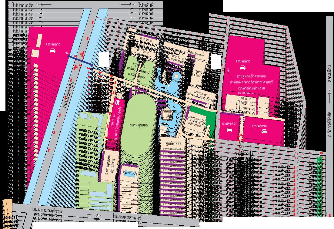 แผนที่เดินทาง มหาวิทยาลัยธุรกิจบัณฑิตย์ หรือ DPU ทางเลือกของคนคิดก้าวหน้า เป็นมหาวิทยาลัยเอกชนแห่งแรกและแห่งเดียวของประเทศที่ได้รับการรับรองคุณภาพมาตรฐานสากล ISO 9001 : 2008
